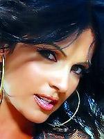 Sexy brunette Denise Milani pics