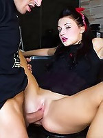 Elegant chick with tight pussy likes to fuck