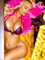 The curvaceous Yugoslavian model is capitalizing on the growing success bikini
