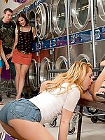 Lexi Belle and Gacie Glam are so bummed out that their friend Bobbi Starr has a new groupsex